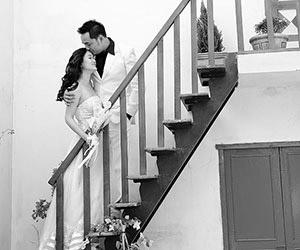 Đen trắng - gam màu ảnh cưới sang trọng
