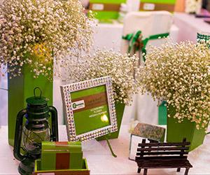 Xanh lá: gam màu hot cho đám cưới 2013