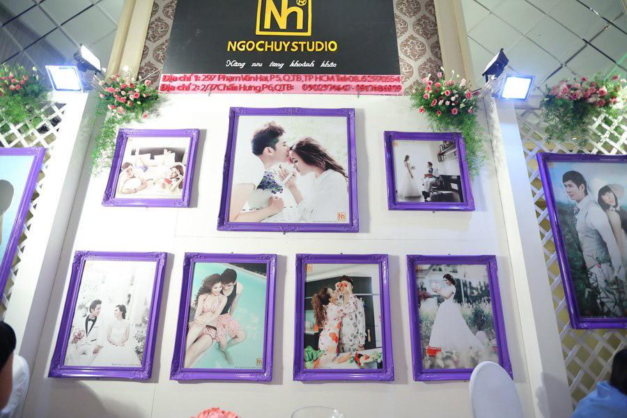 Gian hàng Ngọc Huy tại Triển lãm cưới 2013 được trang trí đẹp mắt