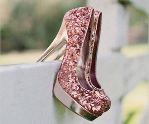 Giày sequins - Xu hướng giày cưới đang thịnh hành