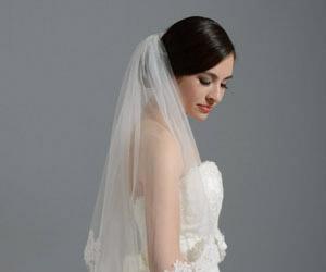 Chọn đúng khăn voan cho áo cưới thêm quyến rũ