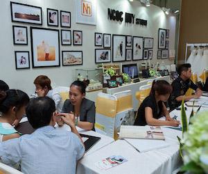 Hình ảnh Ngọc Huy tại Triển Lãm Cưới MarryWedding Day