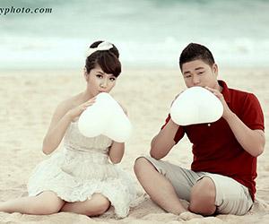 Hình cưới đẹp ở Phan Thiết