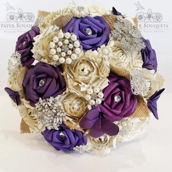 hoa cưới đẹp từ giấy