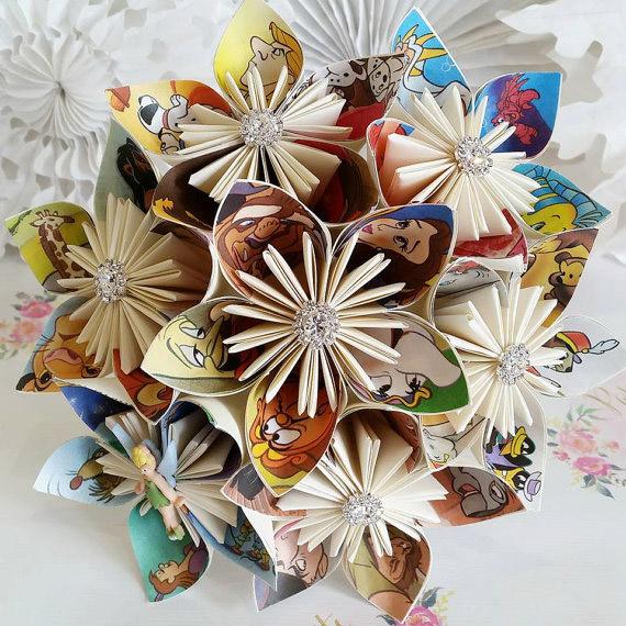 hoa cưới đẹp bằng giấy