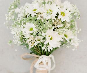 Hoa cưới tự nhiên - xu hướng của năm 2015
