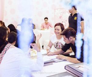 Ngọc Huy Studio thu hút nhiều cặp đôi ngay trong ngày đầu tiên Khai mạc Triển Lãm Saving Wedding 2015