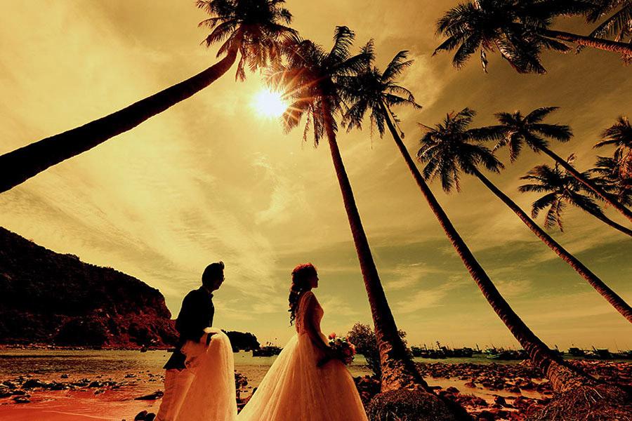 Ảnh cưới đẹp Nam Du
