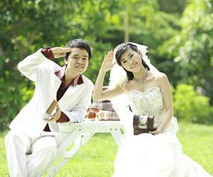 Khách hàng Ngọc Huy tham gia thi Ảnh cưới đẹp