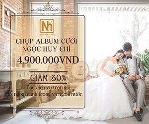 Ngọc Huy studio: Ảnh cưới đẹp dưới 5 triệu đồng