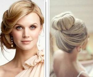 Kiểu tóc cô dâu kinh điển