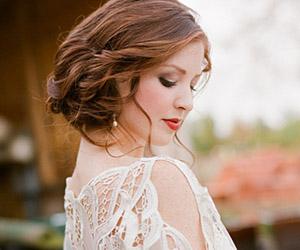 Kiểu tóc cưới đẹp cho mùa thu đông