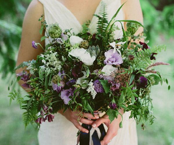 Lạ mắt với hoa cưới từ cây gia vị trong vườn