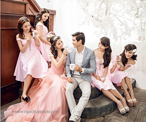 Làm thế nào để giữ áo cưới sạch và đẹp?