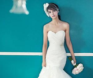 Lãng mạn với áo cưới Hàn Quốc