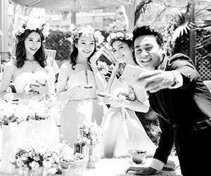 Lộ ảnh cưới đẹp lung linh của trai nhảy Ngọc Thuận và Tôn Tuyền