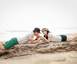 Lưu ý để có bộ ảnh cưới biển đẹp tự nhiên
