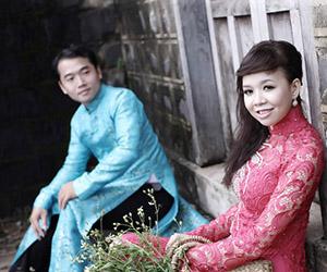 Mẫu áo dài đẹp để chụp hình cưới