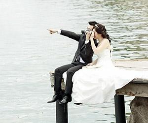 Mốt chụp hình cưới 2015