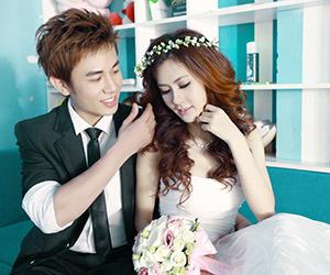 Mốt chụp hình cưới style Hàn Quốc