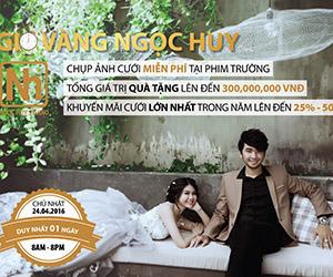 Ngọc Huy - Ngày hội chụp ảnh cưới miễn phí tại phim trường