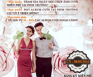 HOT: Ngày hội chụp ảnh cưới tại Ngọc Huy