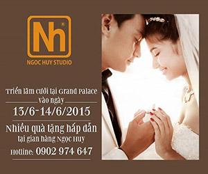 Ngọc Huy Studio ưu đãi hấp dẫn tại Marry Wedding Day 2015