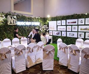 Hình ảnh Ngọc Huy Studio tại triển lãm cưới Love Paradise