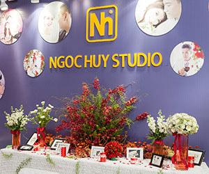 Ngọc Huy tham gia triễn lãm cưới The Art of Wedding.