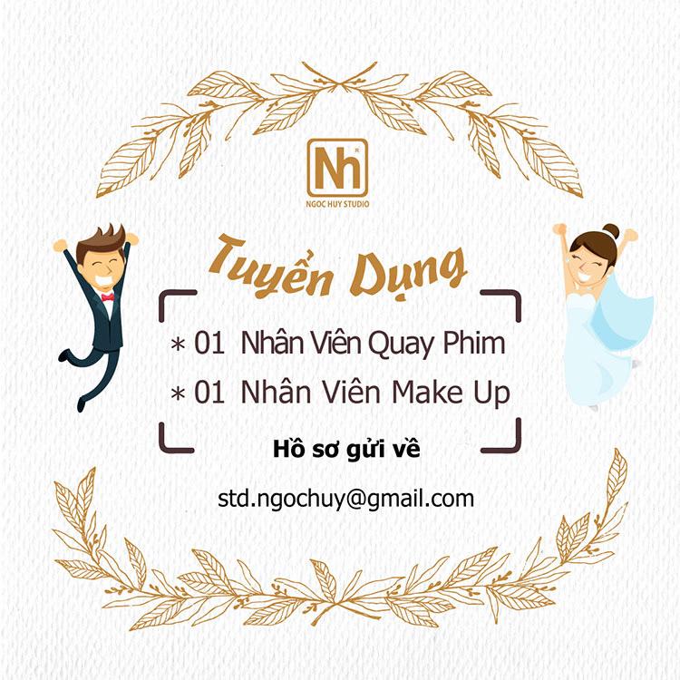Ngọc Huy Studio tuyển dụng