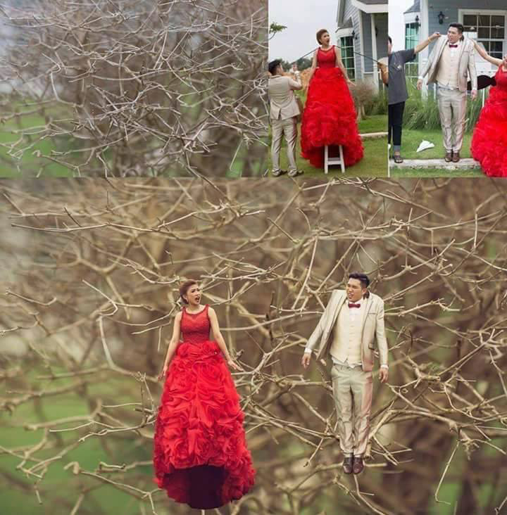 Người tí hon: Trào lưu chụp hình cưới đang làm mưa làm gió