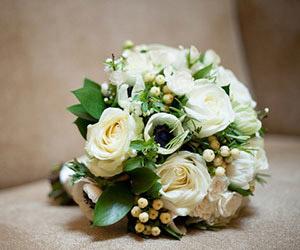 Những bó hoa cưới màu trắng tuyệt đẹp