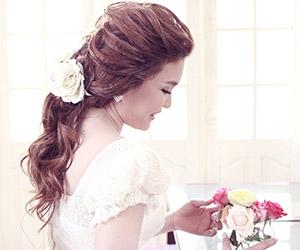 Những kiểu tóc cô dâu đẹp nhất