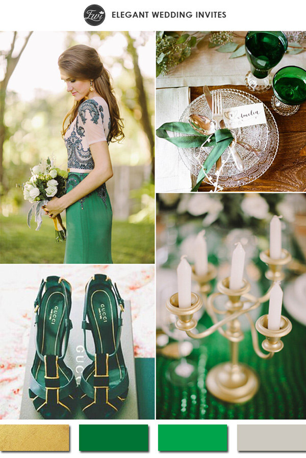 Những tông màu đẹp cho đám cưới