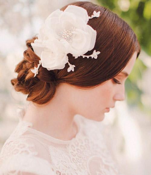 Phụ kiện tóc tuyệt đẹp cho cô dâu