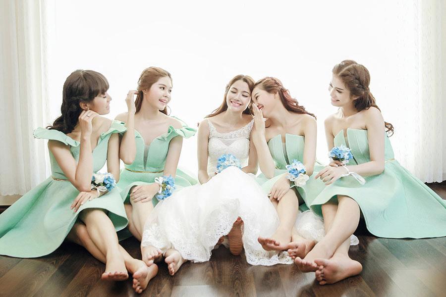 Album ảnh cưới đẹp - Hội bạn thân