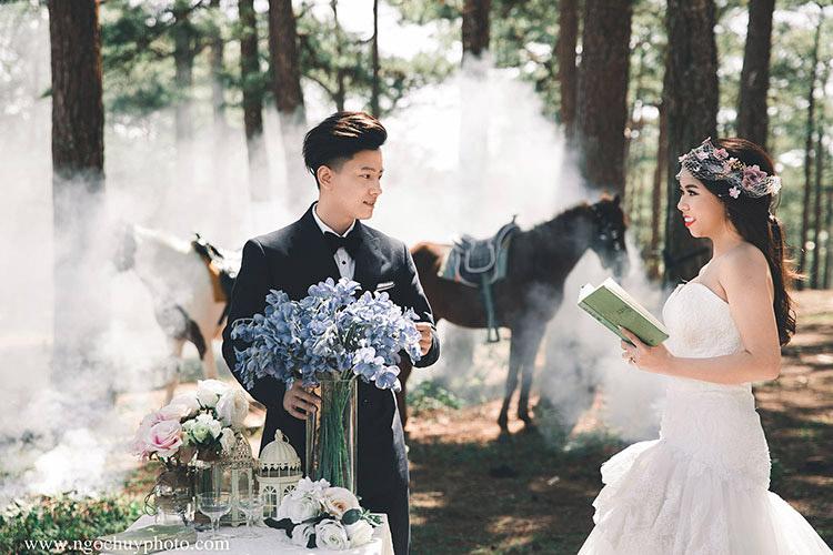 địa điểm chụp hình cưới đẹp đà lạt