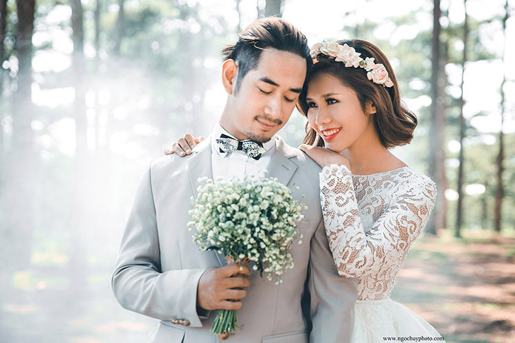 địa điểm chụp hình cưới đẹp tại đà lạt