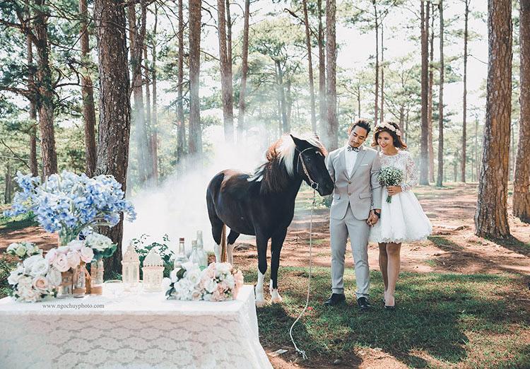 điểm chụp hình cưới đẹp đà lạt