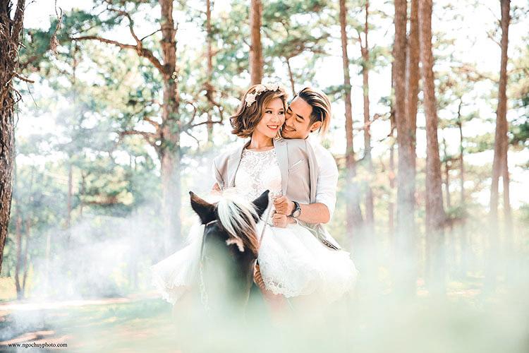 hình cưới đẹp đà lạt 2017