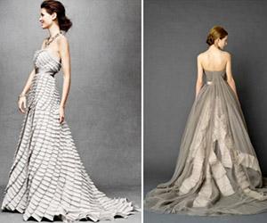 Sắc màu áo cưới đa dạng