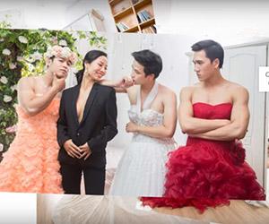 Video siêu cá tính: Lần đầu mặc váy cưới