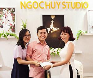 Tham gia triển lãm, nhận quà liền tay từ Ngọc Huy