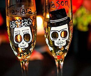Tiệc cưới phong cách Halloween rùng rợn