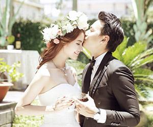 Quán quân Viet Fashion Icon 2015 Tôn Tuyền hóa cô dâu rạng ngời bên chú rể DV Ngọc Thuận
