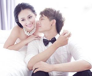 Top 10 Miss Ngôi Sao Thanh Nhàn lung linh trong bộ ảnh cưới