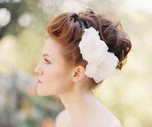 Tự làm tóc cô dâu ấn tượng