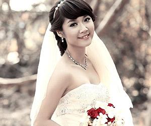 Mẹo trang điểm cô dâu tại nhà