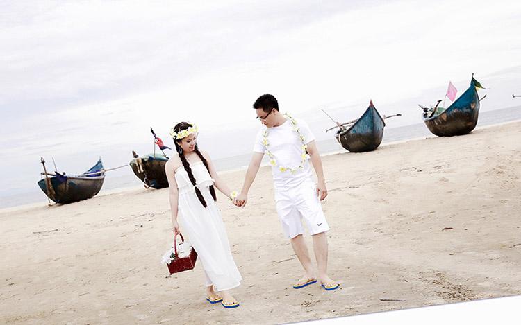 Tư vấn trang phục chụp hình cưới biển