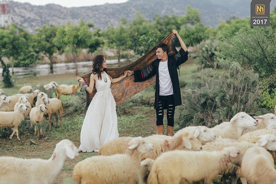 Hình cưới đẹp Hồ Cốc
